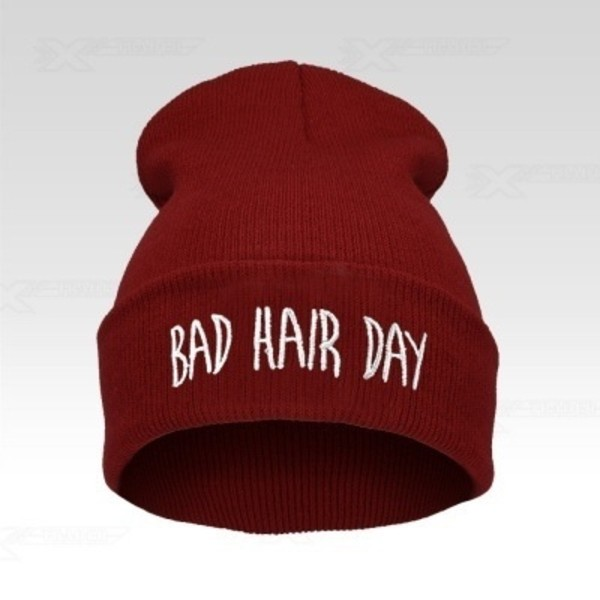 hat bad hair day hat