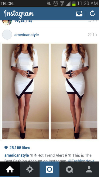 formal classy black and white dress black and white chic perfect triangle