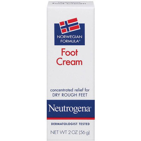 Neutrogena Norwegian Formula Foot Cream, 2 oz - Walmart.com