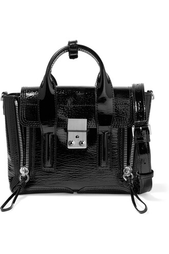 mini bag leather black