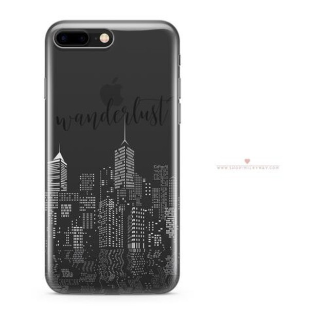 Milkyway Cases CLEAR TPU CASE COVER - CITY WANDERLUST