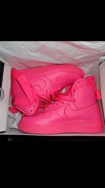 hot pink high tops