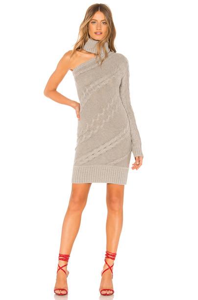 Lovers + Friends Rachel Sweater Dress in gray