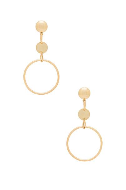 Ettika In The Crowd Earrings in gold / metallic