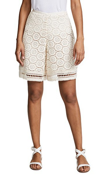 See by Chloe shorts lace shorts lace white