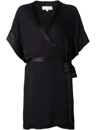 kimono black top