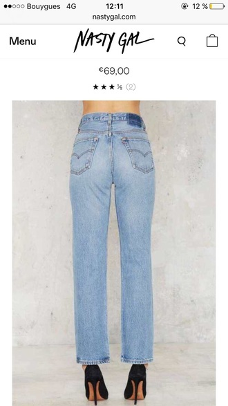 jeans levi's straight jeans high waisted jeans