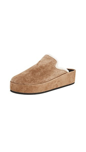 Rag & Bone mules camel shoes