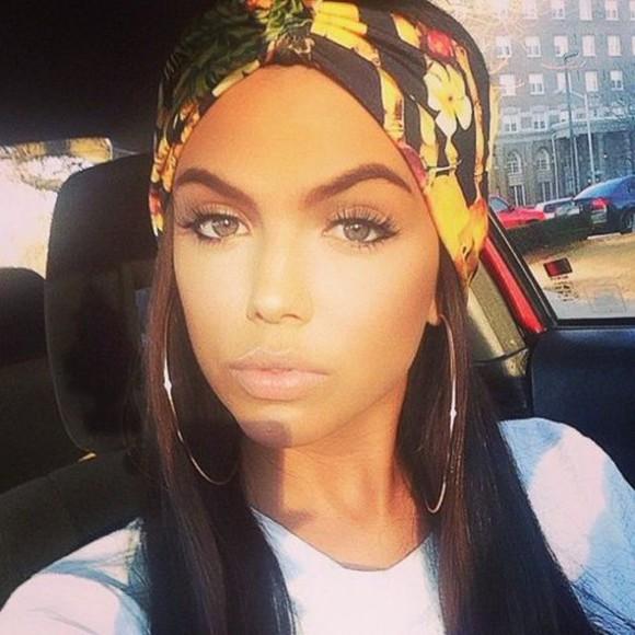 fashion headband hair accessories scarf fall outfits head wrap