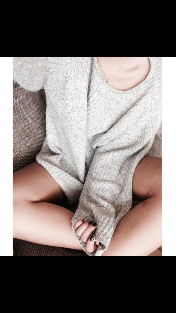 sweater grey pullover oversized baggy t-shirt cardigan outerwear outerwear knit knit pullover knitted sweater