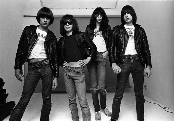 blouse clothes girl band ramones