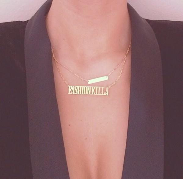jewels necklace necklace fashion killa
