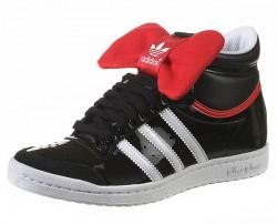 adidas top ten hi sleek rose noir