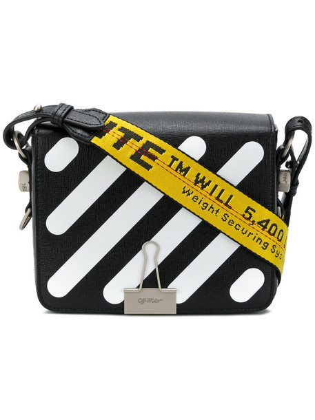 Off-White satchel women leather black bag