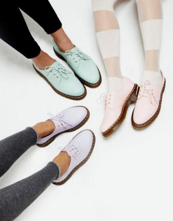 shoes pastel dcmartens DrMartens DrMartens classy