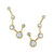 Constellation Earrings   Logan Hollowell Jewelry