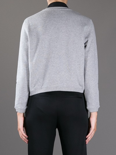 Carven Branded Sweatshirt - Gallery - Farfetch.com