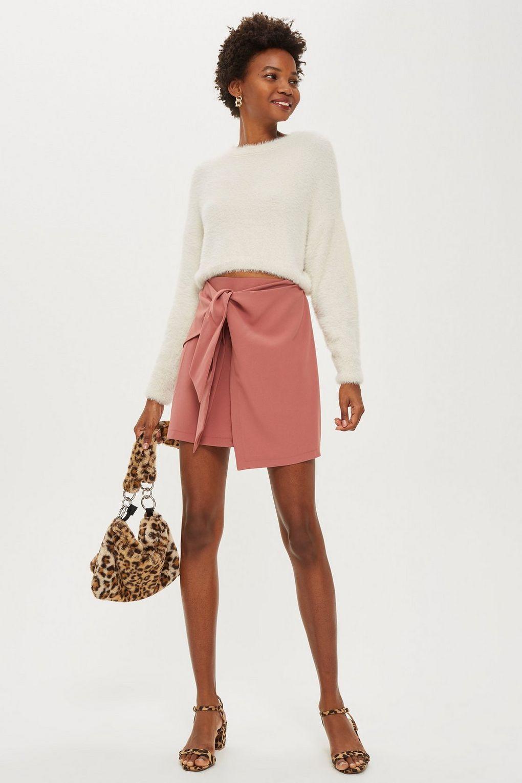 Tie Front Pelmet Skirt