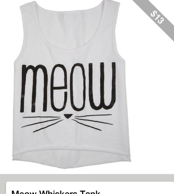 shirt meow grey t-shirt