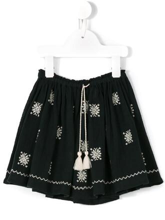 skirt girl blue