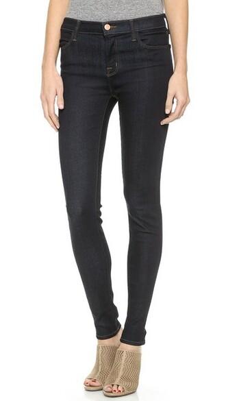 jeans skinny jeans high dark