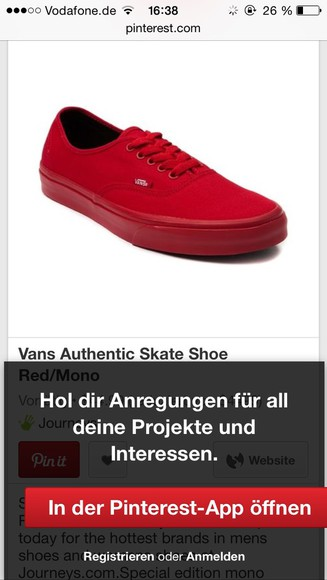 shoes vans vans of the wall red all red