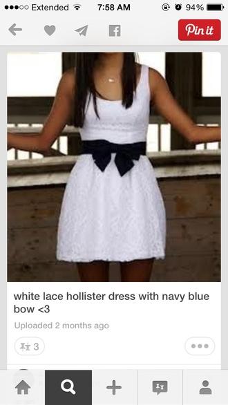 dress hollister white lace dress white lace