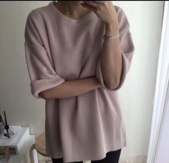 top rose dusty sweater dusty pink