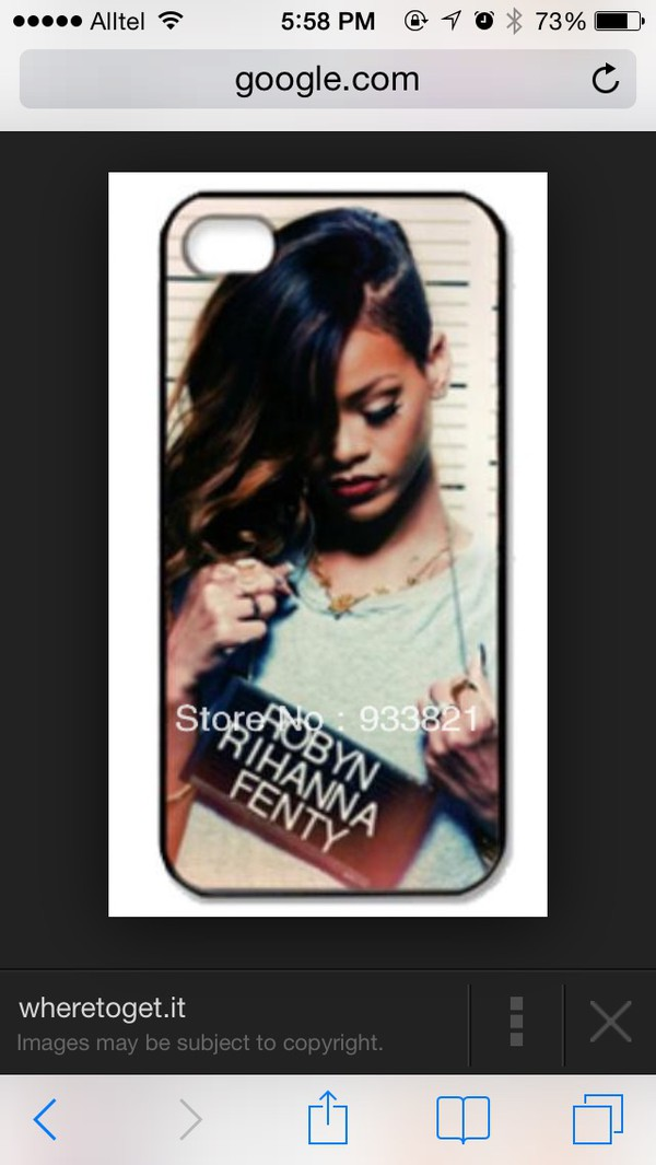 phone cover rihanna iphone case