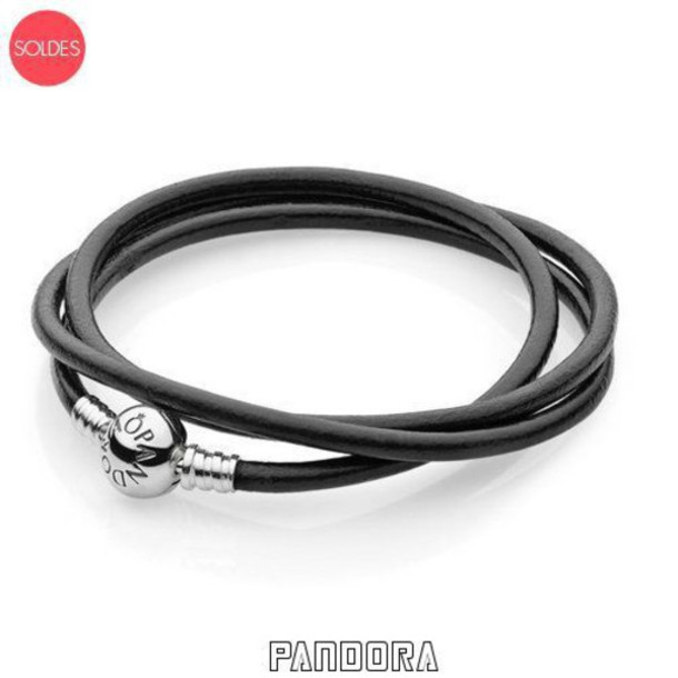 bracelet cuir pandora