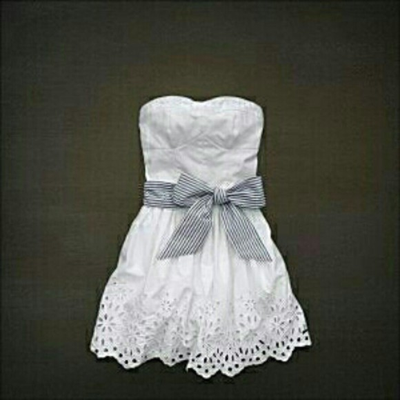 summer dress bustier dress short striped bow