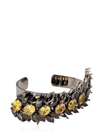 jewelry black yellow jewels