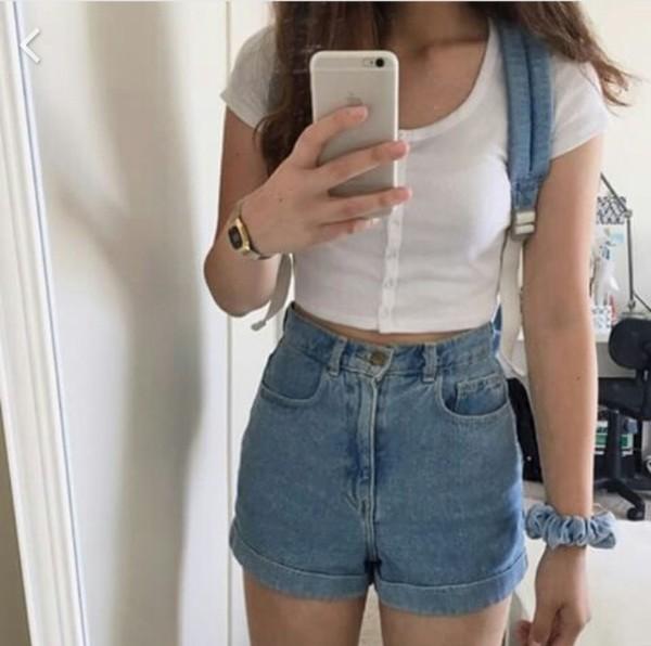 Shirt tumblr grunge aesthetic nice shorts - Wheretoget