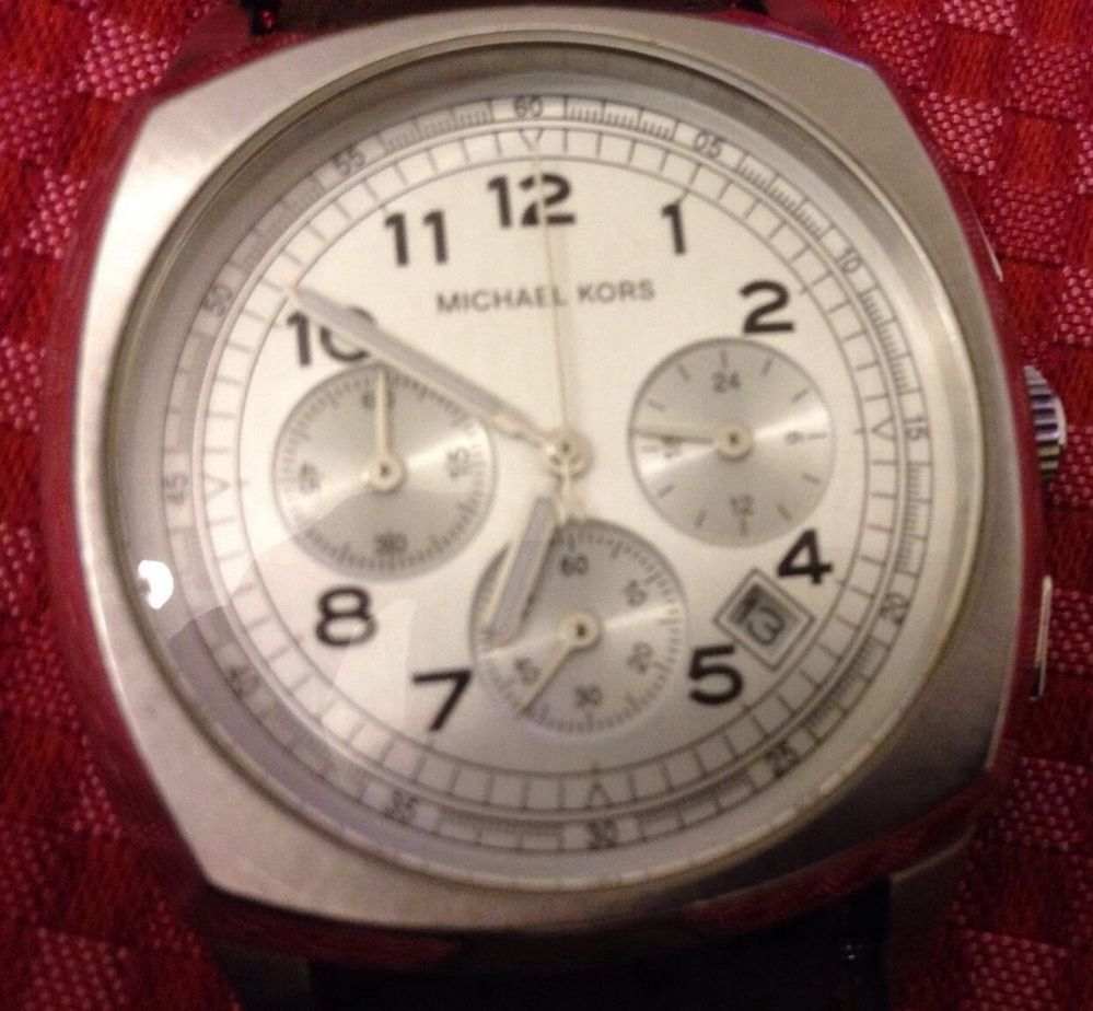 Unisex Michael Kors Watch Wristwatch Chronograph Stopwatch | eBay