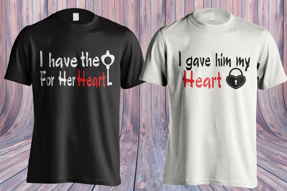 Valentines day shirt, I love my awesome wife, I have the key for her heart, Gift for her, Gift for him, I love my awesome husband