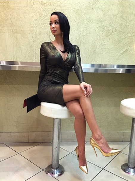 dress draya michele pumps metallic gold dress shoes