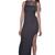 Black Cage Top Dress | Garb Boutique