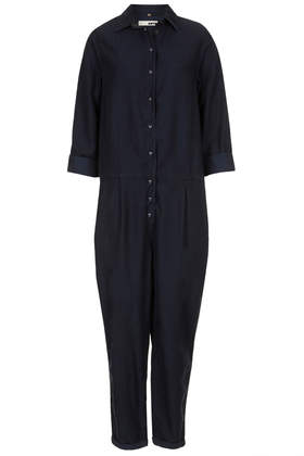 MOTO Tencel Denim Boilersuit - View All Sale - Sale & Offers - Topshop