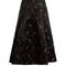 Gael duchess-satin a-line skirt