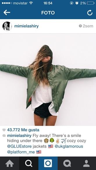 coat bomber jacket