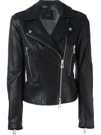 jacket biker jacket black