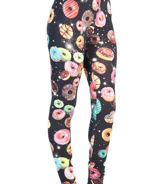 leggings donut cute cool