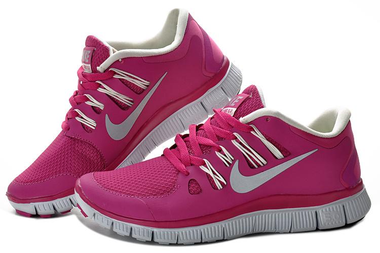 Nike Free Run 5.0 V2 Women Purple Red White