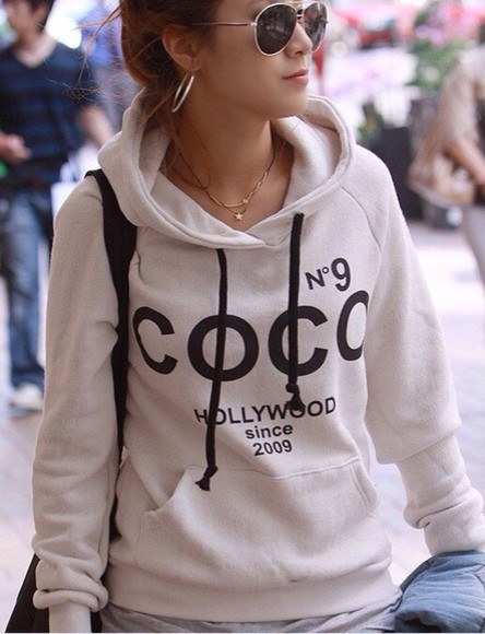 sweater sexy hot obsessed beautiful pretty cute gorgeous chanel coco hollywood kylie jenner kardashians kim kardashian kendall jenner vanessa hudgens fashion fashionable style stylish trendy 2014 summer college coco chanel hollywood selena gomez ariana grande spring fashion