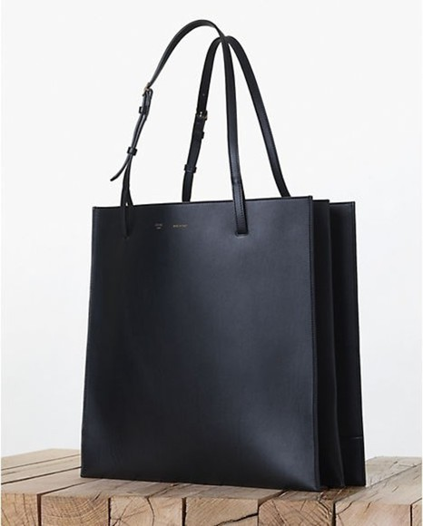 bag designer brand fahion leather black structured