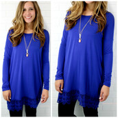 dress,blue,royal blue,lace,short,short dress,long sleeves,amazinglace,amazinglace.com