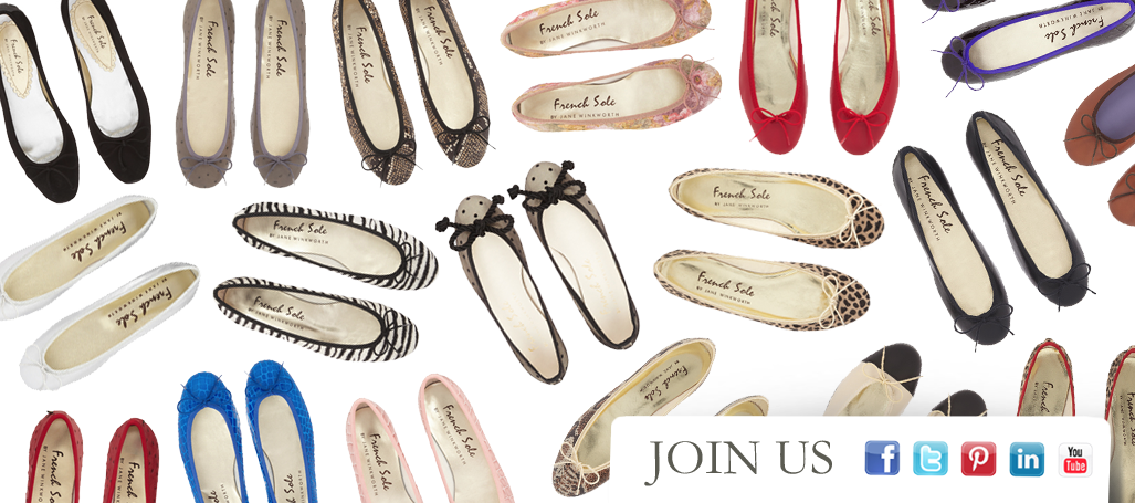 French Sole | Flat Shoes | Ballet Flats | Ballet Pumps | Ballerinas