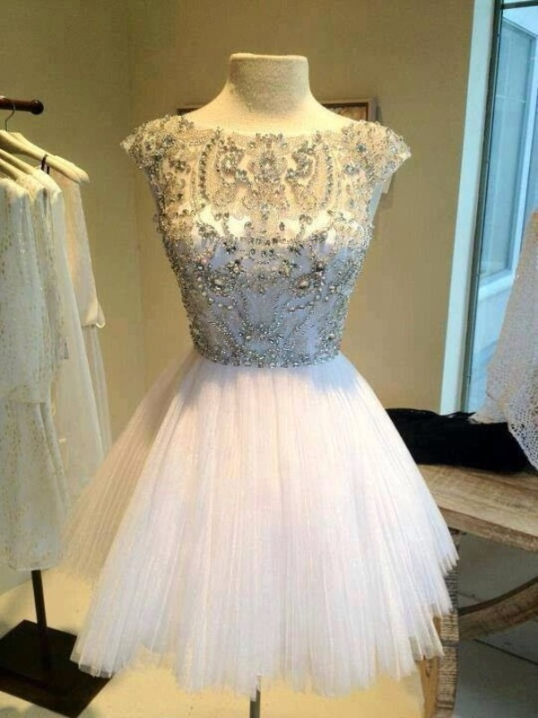 dress white dress prom dress short prom dress