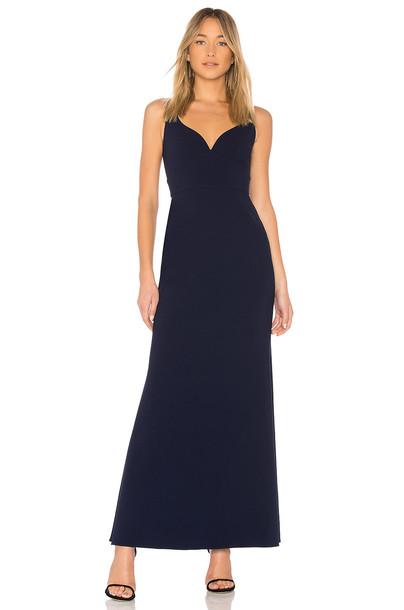Jill Jill Stuart gown blue dress