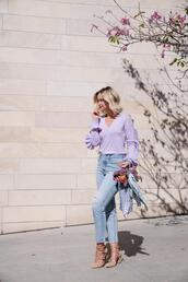 late afternoon,blogger,sweater,jeans,shoes,scarf,jewels,bag,pumps,spring outfits
